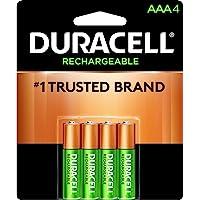 Duracell Recargable Hasta 400 recargas, color, AAA, pack of/paquete de 4