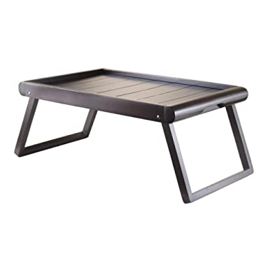Winsome Wood Wainscoting Top Elise Bed Tray, U-Leg