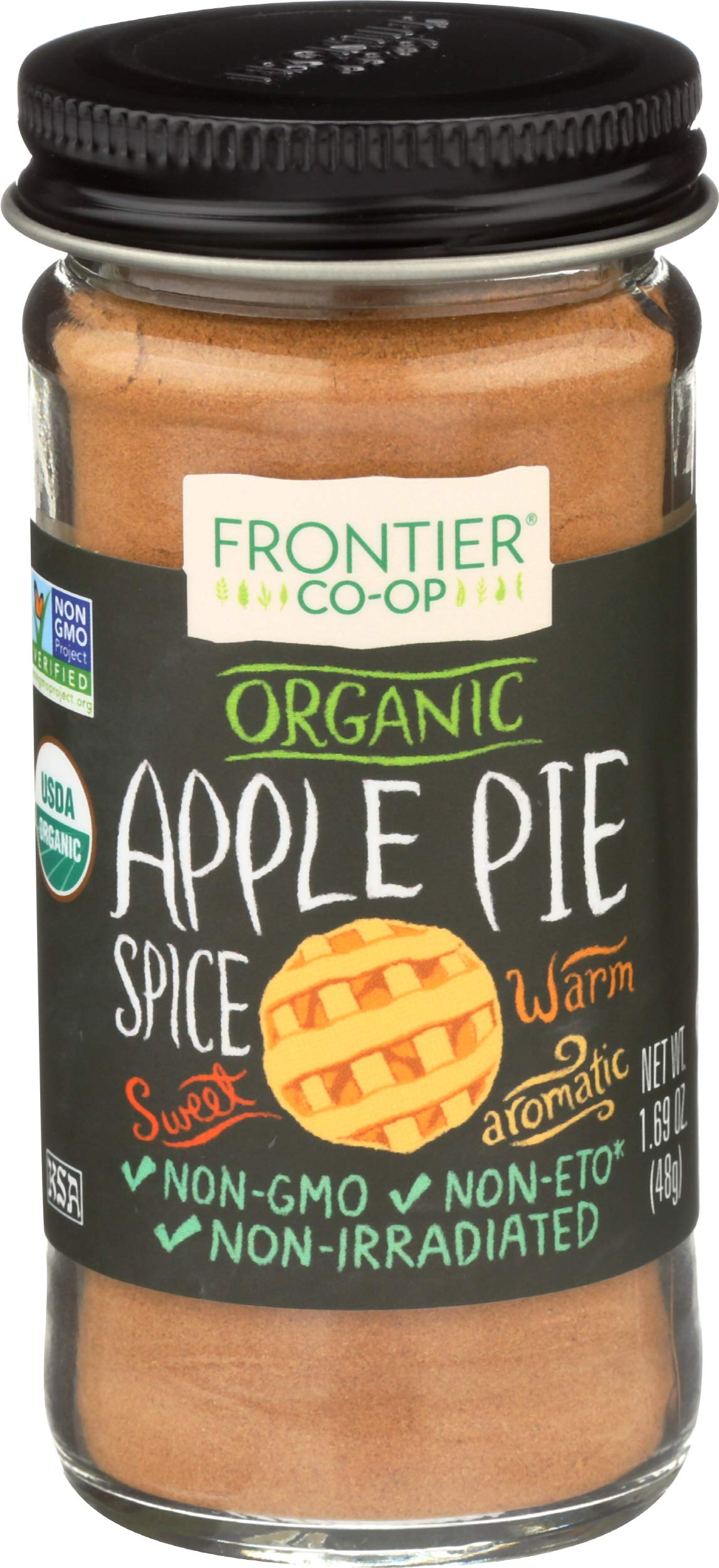 Frontier, Spice Apple Organic, 1.69 Ounce