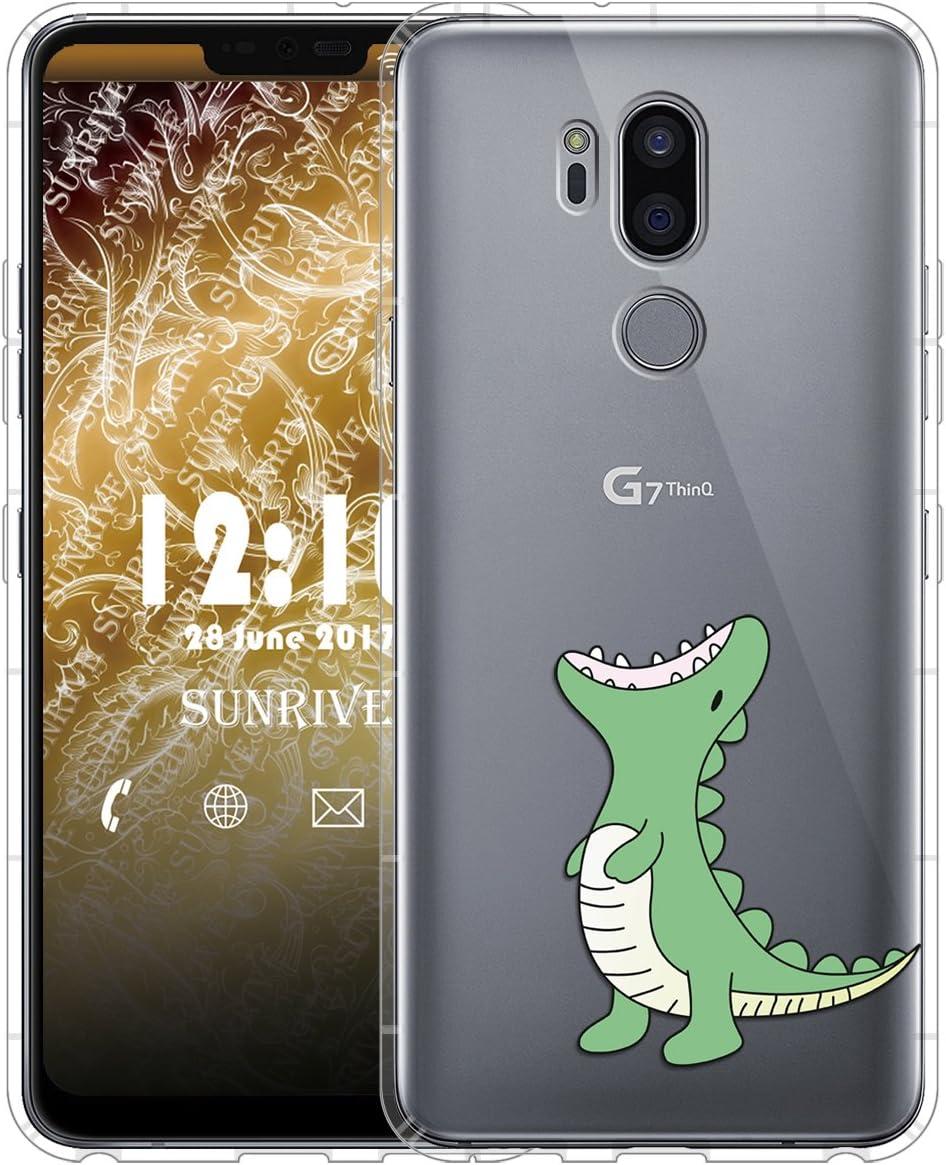 Sunrive Funda para LG G7 ThinQ, Silicona Slim Fit Gel Transparente ...