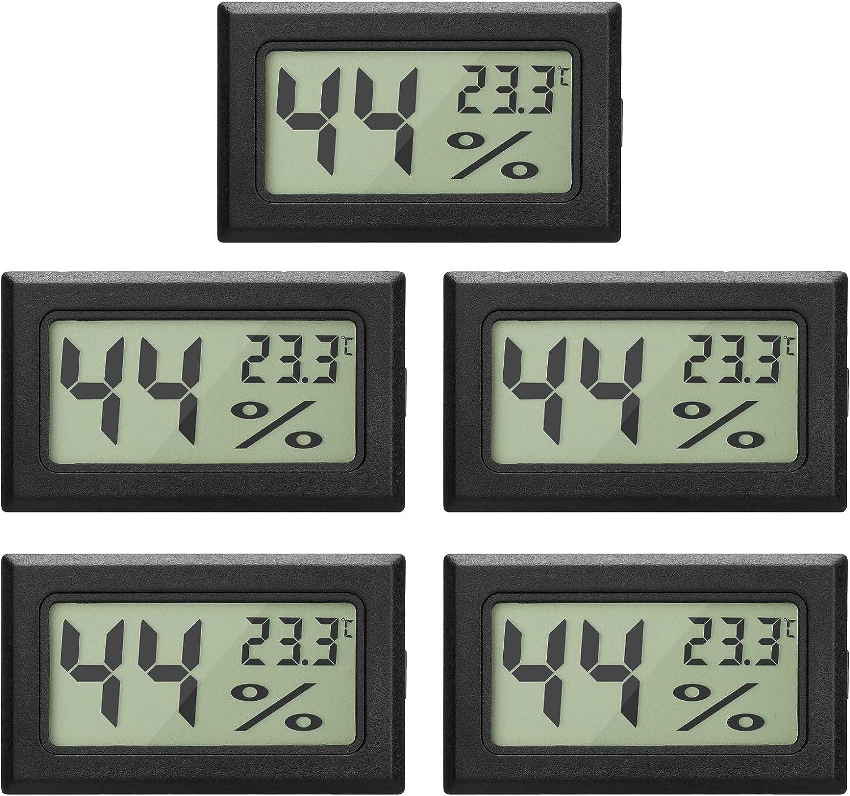 Dauerhafte Hygrometer Messgerät Feuchtigkeits Monitor Violine //