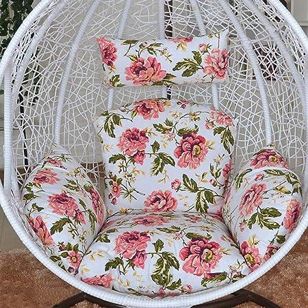 NACHEN Cojines de Columpio para Exteriores Cojín para Silla de jardín Terraza de ratán Cojín para Asiento de colchón Colgante de jardín,Color23: Amazon.es: Hogar