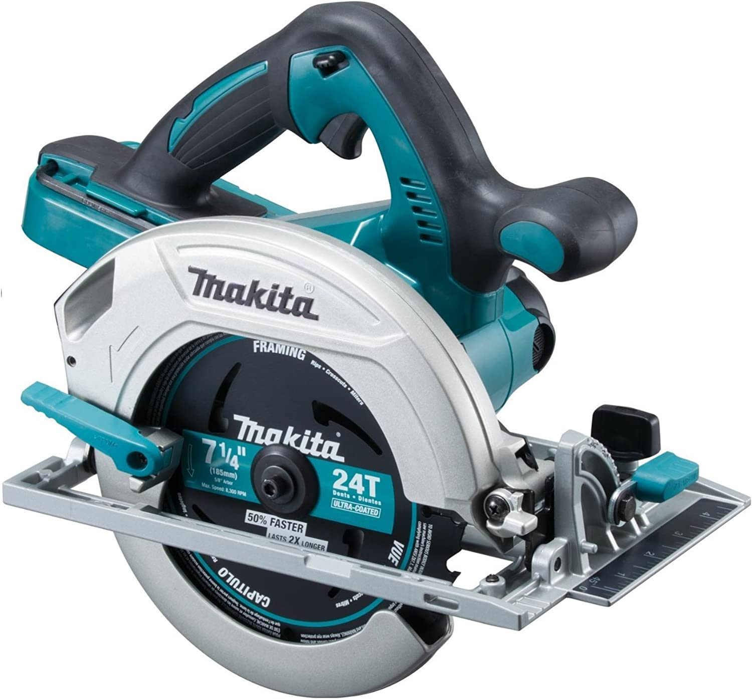 Makita OEM XSH01Z 18-V X2 LXT Lithium-Ion Cordless 7-1 4- Circular Saw Tool Only