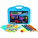 55 pc stencil drawing kit w case full set of drawing stencils for - Kids Drawing Stencils