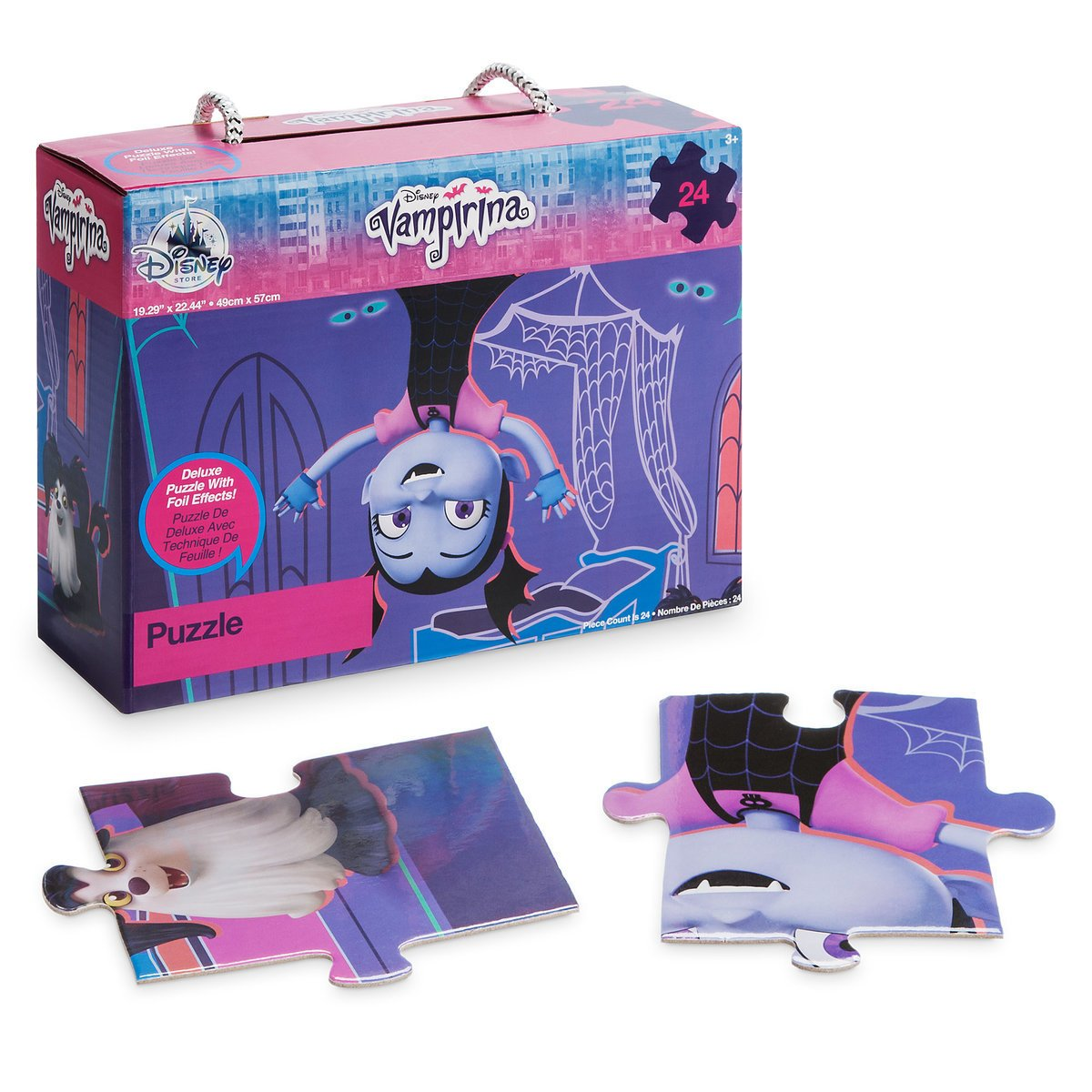 Vampirina 24-Piece Puzzle Vampirina W/Storage with 24-Piece box with Carry Strap B079SKQ6JG, 洋服倉庫:bc9f8130 --- ero-shop-kupidon.ru