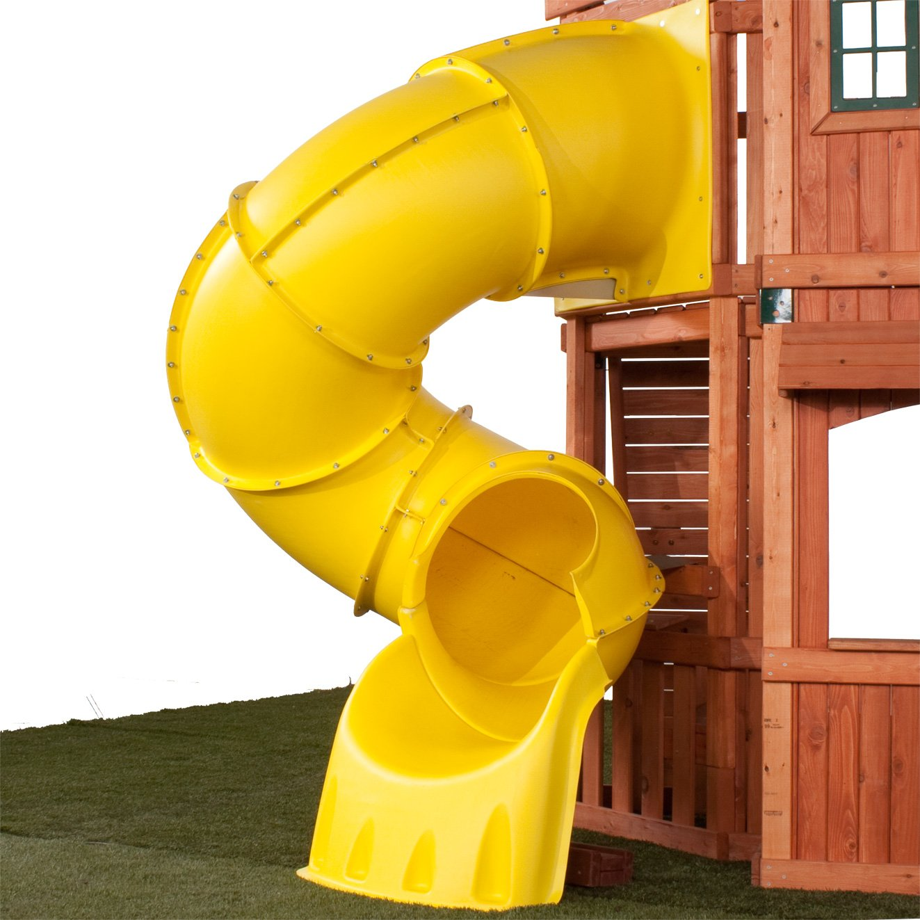 5 Ft Turbo Tube Slide, Yellow by Swing-N-Slide