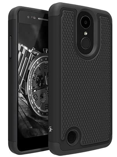 the latest 6f4e5 75080 LK Case for LG Aristo, LG Phoenix 3, LG K8 2017, LG Fortune, LG Risio 2, LG  Rebel 2 LTE, [Shock Absorption] Drop Protection Hybrid Armor Defender ...