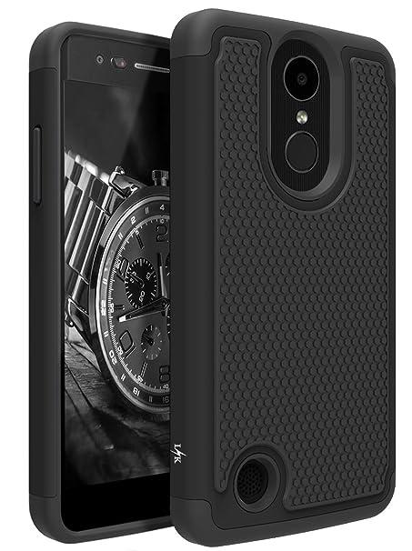 LK Case for LG Aristo, LG Phoenix 3, LG K8 2017, LG Fortune, LG Risio 2, LG  Rebel 2 LTE, [Shock Absorption] Drop Protection Hybrid Armor Defender