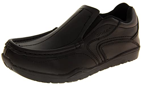 Footwear Studio - Mocasines para niño negro negro: Amazon.es: Zapatos y complementos