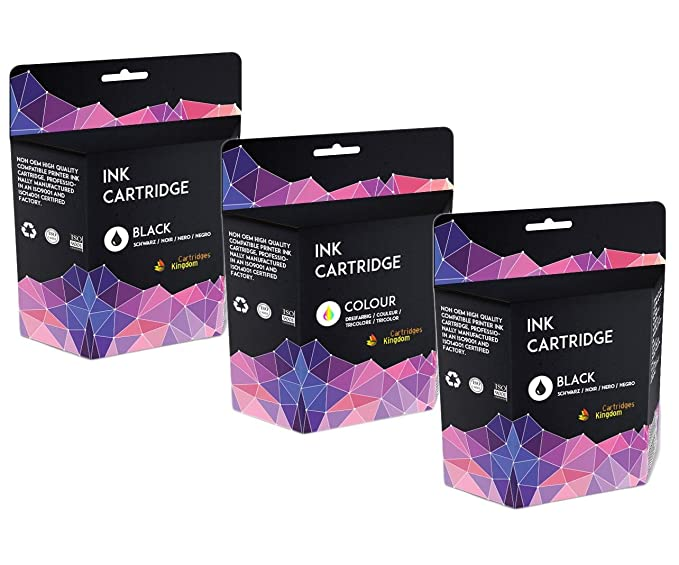 2 Compatibles Cartuchos de Tinta para Canon PG-545XL CL-546XL ...