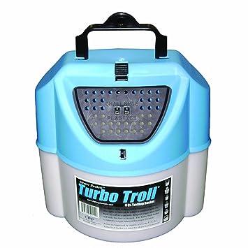 Challenge 50114 Turbo Troll - Cubo de Cebo, 8 Cuarzo, Color Blanco: Amazon.es: Deportes y aire libre