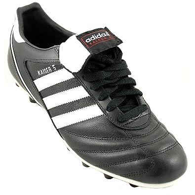 f043f3954a9 Amazon.com  adidas Kaiser 5 Liga Firm Ground Football Boots - 7.5 - Black   Shoes