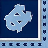 20-Count NCAA Paper Lunch Napkins, North Carolina