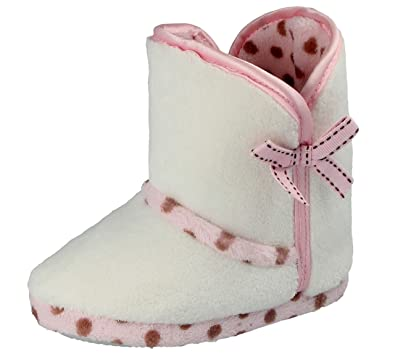 ddb7f376a Infant Toddler Baby Little Girls Slippers White Slipper Boots UK Sizes 8:  Amazon.co.uk: Shoes & Bags