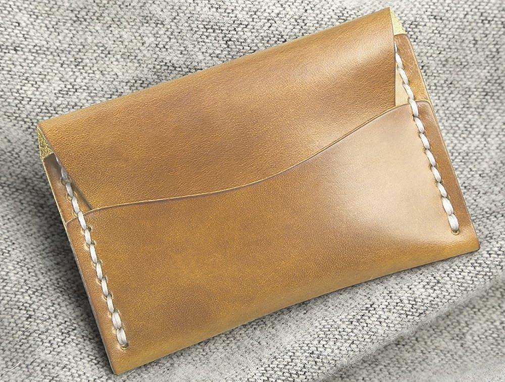 Faler Brand Minimalist Card Case Minimalist Wickett /& Craig Leather Fold Credit Card Wallet