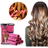 Hair Curler,Foam Sponge Hair Curlers,Pillow Hair Rollers,Hair Styling DIY Tool,Sleep Hair Rollers for Long, Short, Thick & Thin Hair,No Heat Foam Hair Curlers for Women & Girls,6Pcs Set