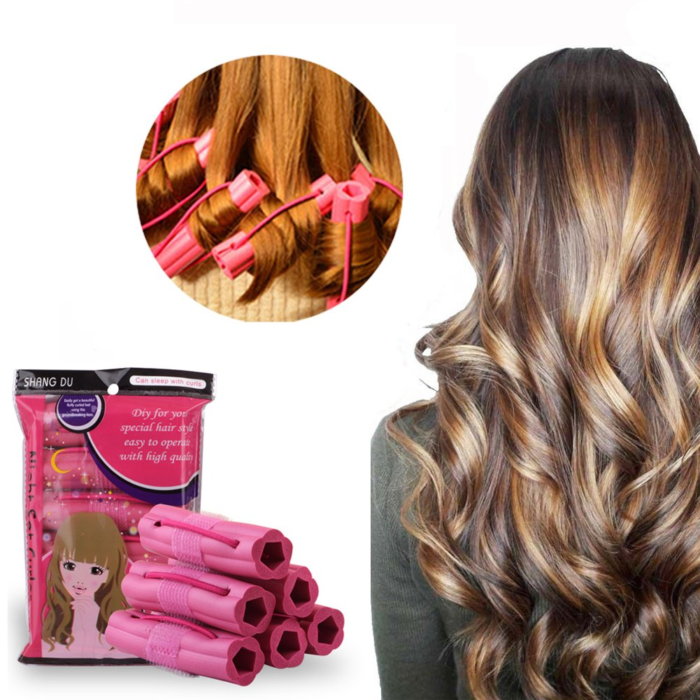 hair curler styles foam hair rollers curler no heat for 6534 | 71QiBMisbXL