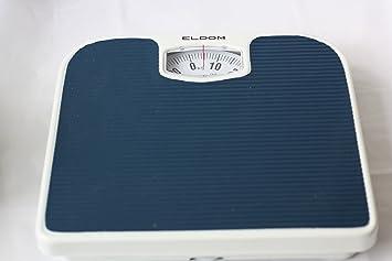 Analog Bathroom Scales 180 Kg Mechanical Weighing Scales Bathroom Foot  Scales Dark Blue