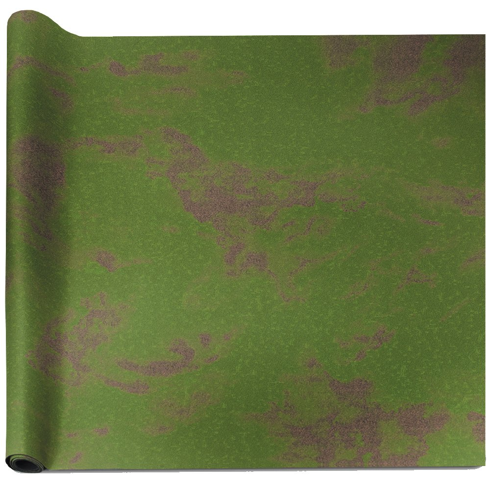 6' x 4' Open Field Neoprene Tabletop Battlemat with Carrying Case by Stratagem by Stratagem