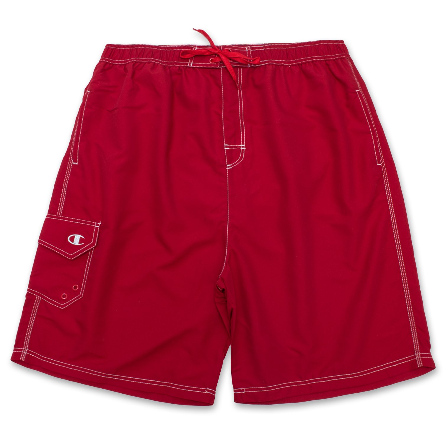 Champion Men's Tall Big Solid Swim Trunk CHS902