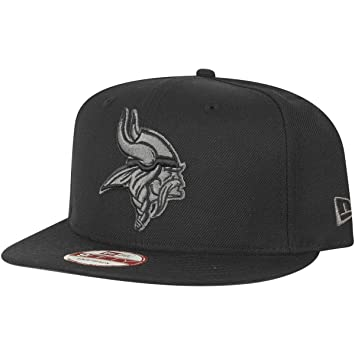 4baeda45a8b New Era 9Fifty Snapback Cap - Minnesota Vikings black   grey  Amazon ...