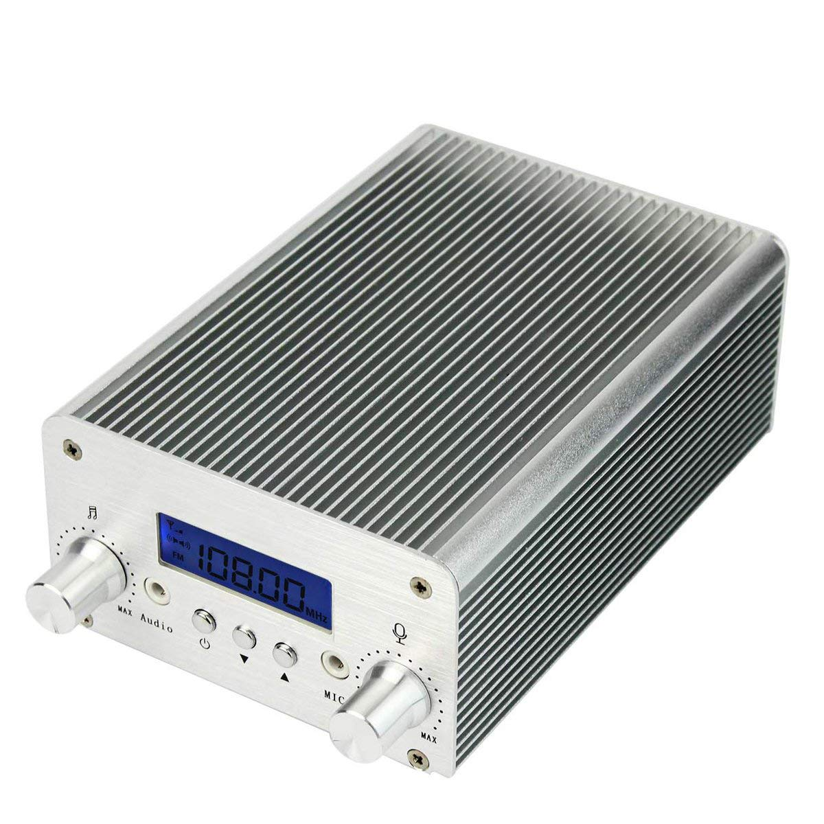 Retekess T15b 5w 15w Fm Transmitter Long Range Wireless 8w Pll Stereo With Lcd Mini Radio Broadcast Station Music Display Aux In Line