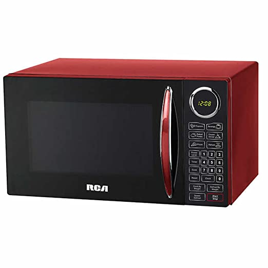 Amazon.com: RCA, 0.9 Cu ft Microondas, color rojo: Aparatos