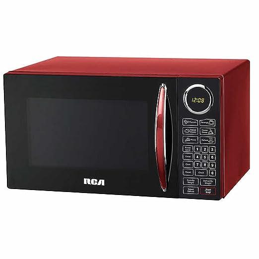 Amazon.com: RCA, 0.9 Cu ft Microondas, color rojo: Aparatos