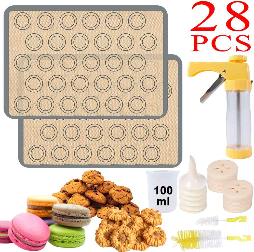 Baking Cake Biscuits Mold Cookie Press Making Gun Cookies Presser Mould NEW S