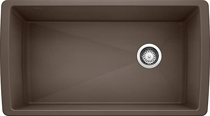 Franke 114.0496.098 Granite Kitchen Sink with a Single Bowl Grey