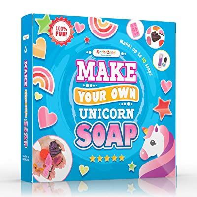 DIY Soap Making Kit - Make Your Own Unicorn Soap with Unicorn tears, Great DIY Craft Project, Gift & STEM Science Experiment for Kids Ages 6 and Up: Toys & Games