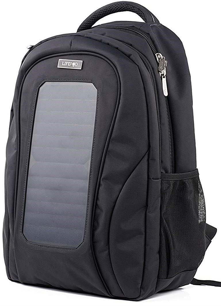 a5fd86c98ac1 LifePod Backpack with Solar Panel and USB Port to Power All your ...