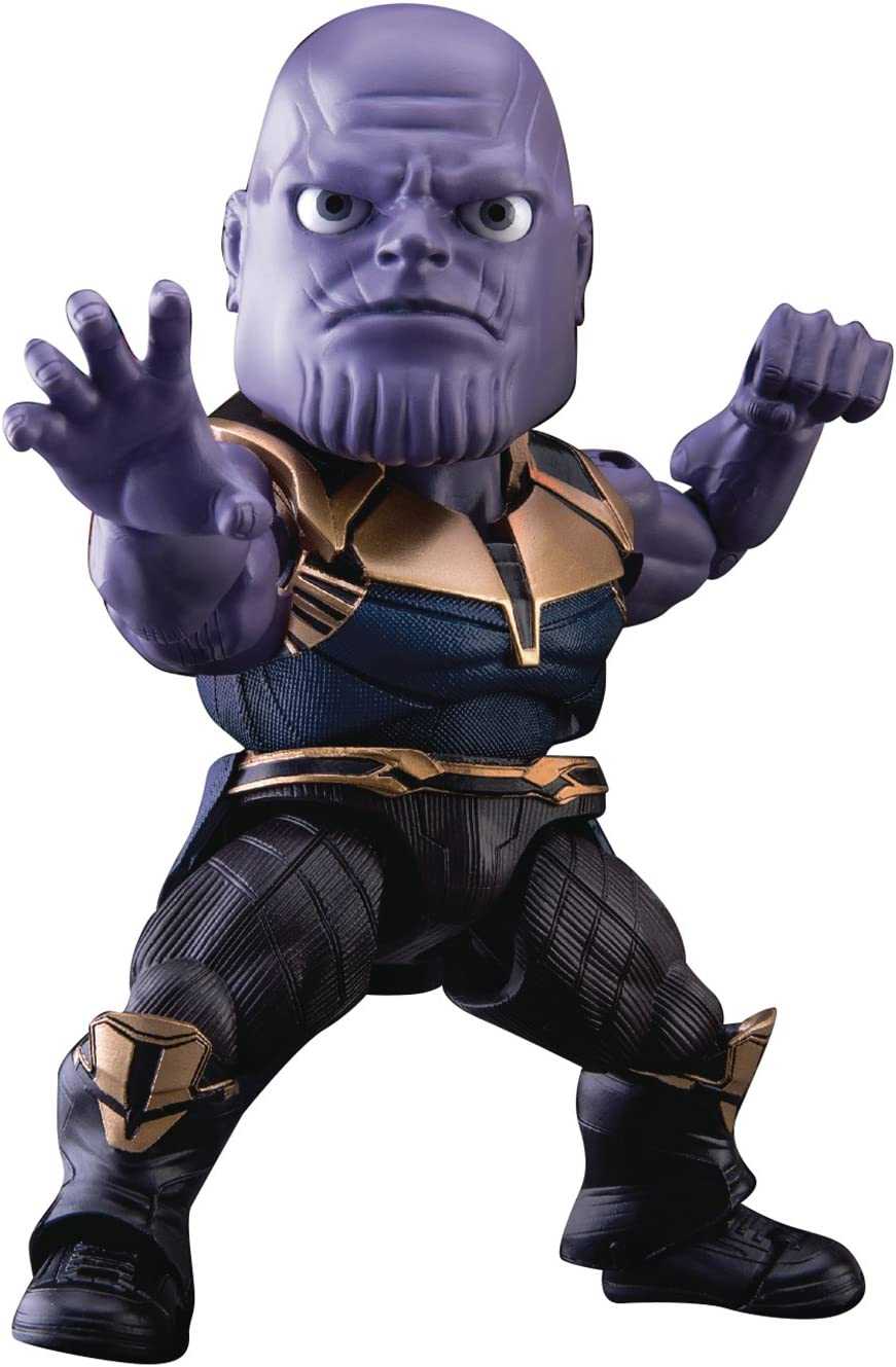 Beast Kingdom EAA-079 9'' The Avengers 4 Final Battle Thanos Mini Figure Toys