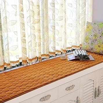 CN Colchonetas de péndulo Modernas Simples Colchonetas de Ventana Balcón de Esponja de Verano Colchones Cubo Flotante, Multi-Tamaño,60 * 180 cm: Amazon.es: ...