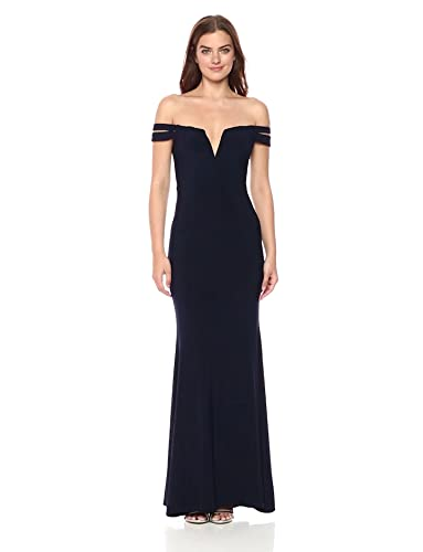 Xscape Womens Long Off The Shoulders Dress at Amazon Womens Clothing store: