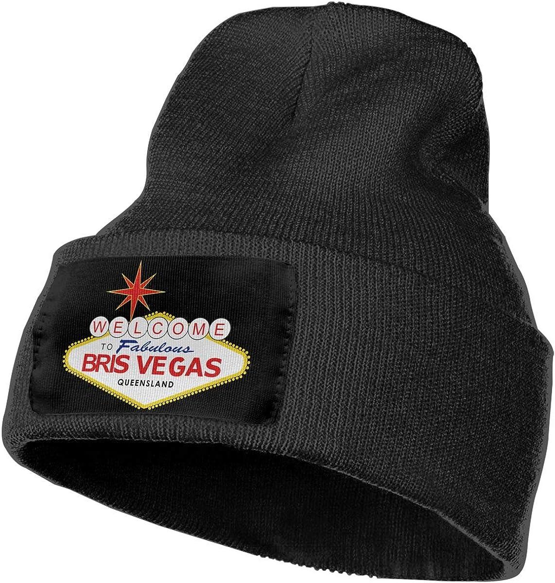 Las Vegas Mens Beanie Cap Skull Cap Winter Warm Knitting Hats.