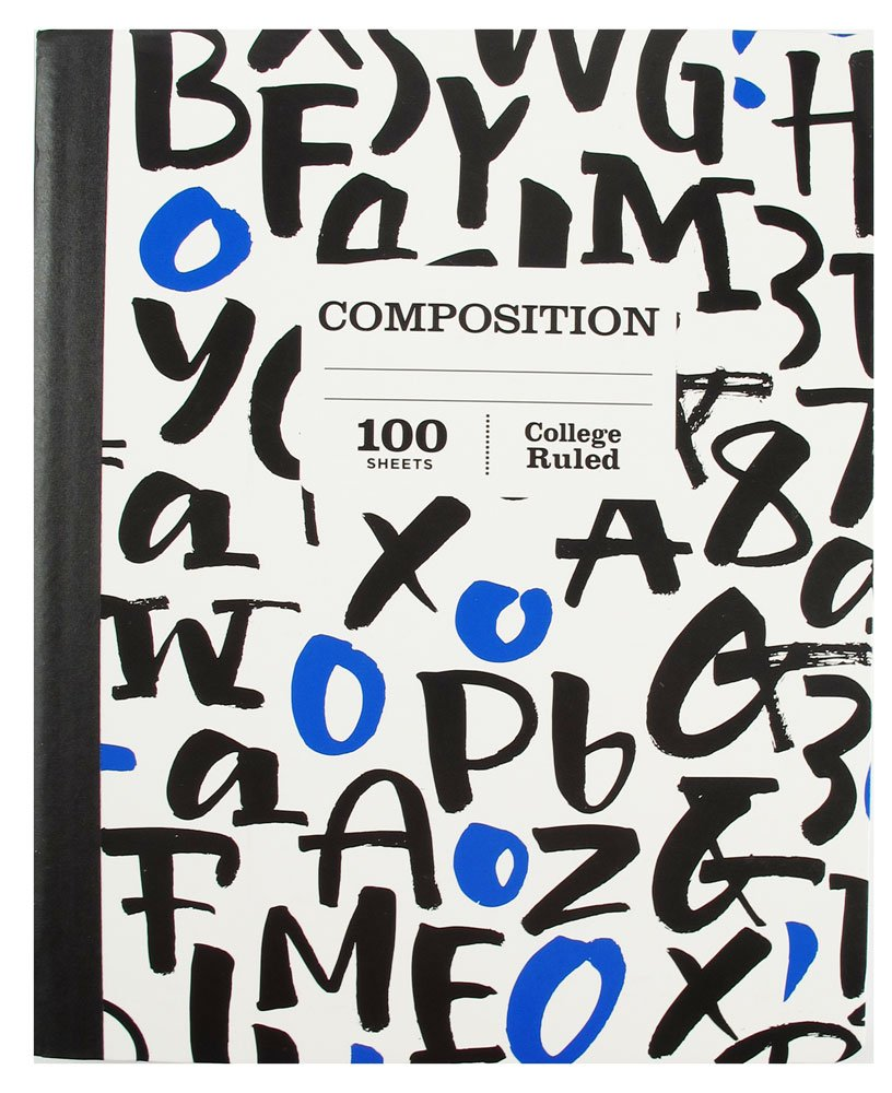 1 Subject College Ruled Composition 100 Page Notebook Sustainable Forestry Pack of 5 by Pen (Image #6)