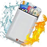 Bolsa de documentos ignífuga con revestimiento de silicona