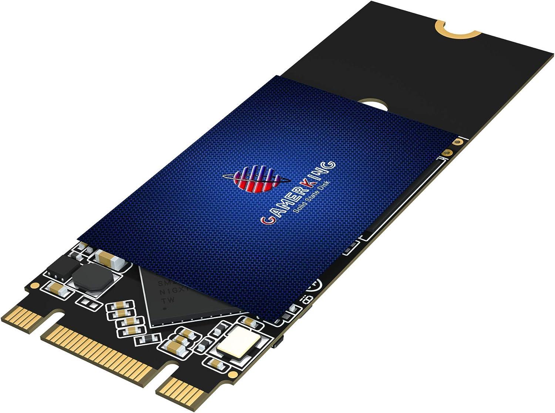 Gamerking SSD M.2 2260 512GB NGFF Internal Solid State Drive High Performance Hard Drive for Desktop Laptop SATA III 6Gb/s M2 SSD(512GB, M.2 2260)