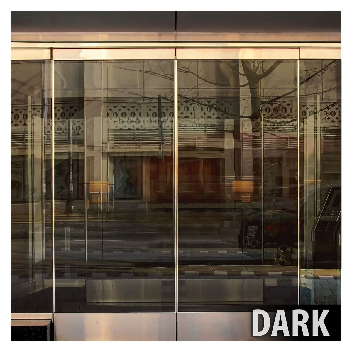 BDF PRBR Window Film Premium Color High Heat Control and Daytime Privacy Bronze (48in X 24ft) by Buydecorativefilm (Image #5)