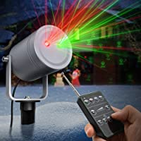 TaoTronics 6-Pattern Outdoor Christmas Laser Light