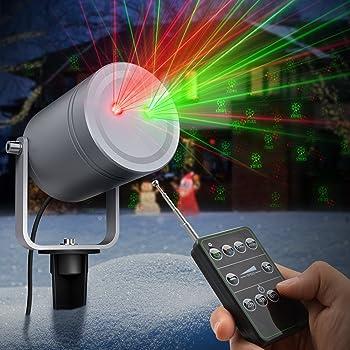 TaoTronics 6-Pattern Outdoor Christmas Laser Light