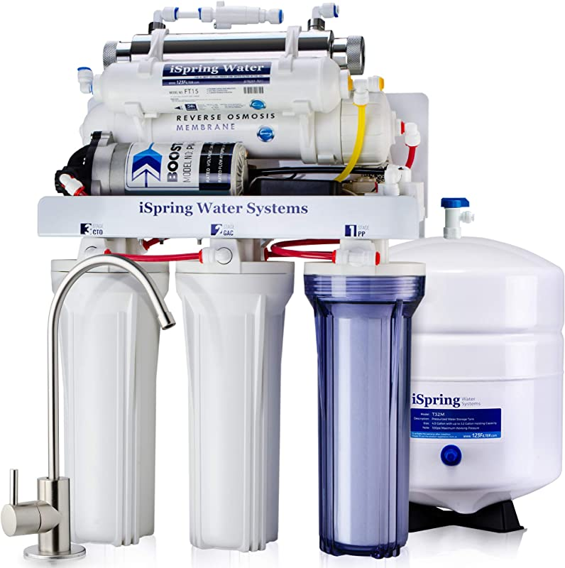 iSpring RCC1UP Reverse Osmosis System Review