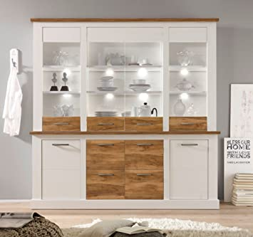 Dreams4home Buffet Lancaster Ii Schrank Vitrine Wohnelement
