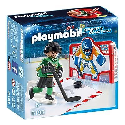 Playmobil - Portería de Hockey sobre Hielo (61920): Juguetes y juegos