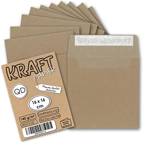 White Envelopes Pack of 50 Christmas A6 Card Blanks Choice of colours