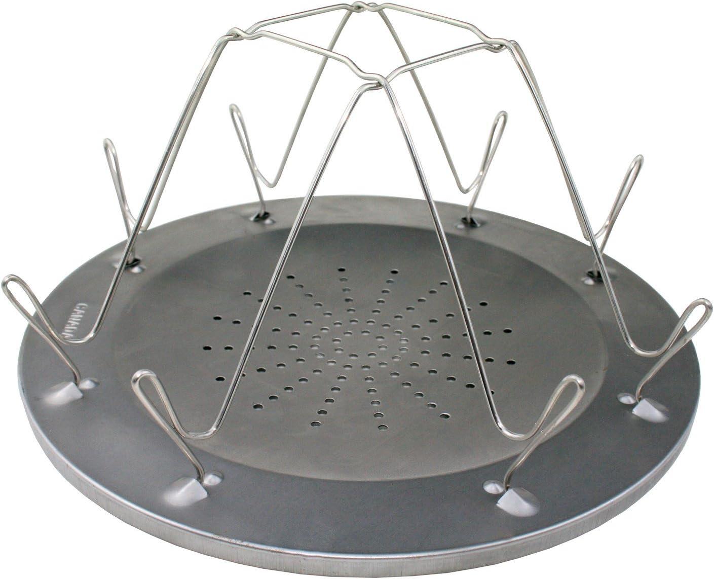 """4 fentes-Se plie à plat-Neuf Coghlan/'s Camp Stove Grille-pain 9/"""" diamètre"""