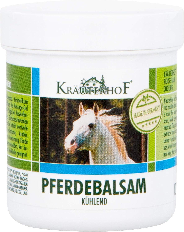 Kräuterhof bálsamo para caballos enfriar 100 ml