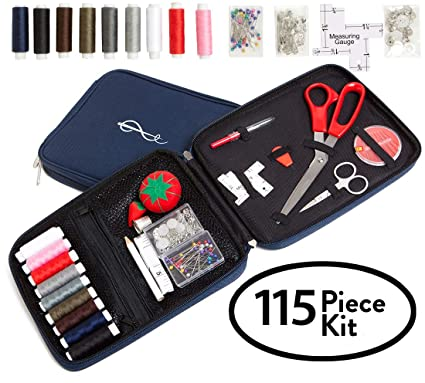 Amazon craftsters best professional sewing kit free bonus craftsters best professional sewing kit free bonus ebook space efficient sewing basket alternative fandeluxe Image collections