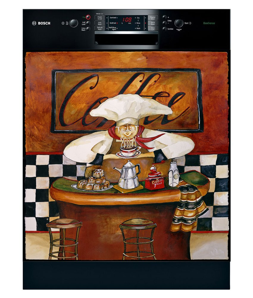 Appliance Art 11455 Appliance Art Sonoma Aroma Dishwasher Cover